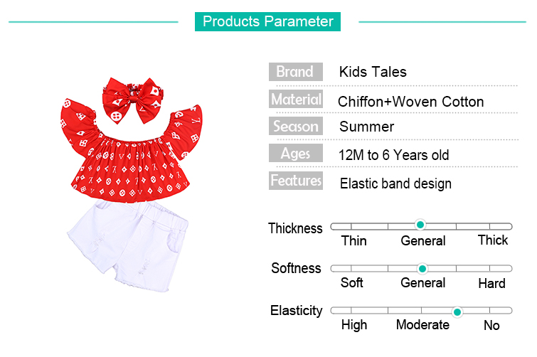 Children Sets for Girls Fashion 19 New Style Girls Suits for Children Girls T-shirt + Pants + Headband 3pcs. Suit ST307 159