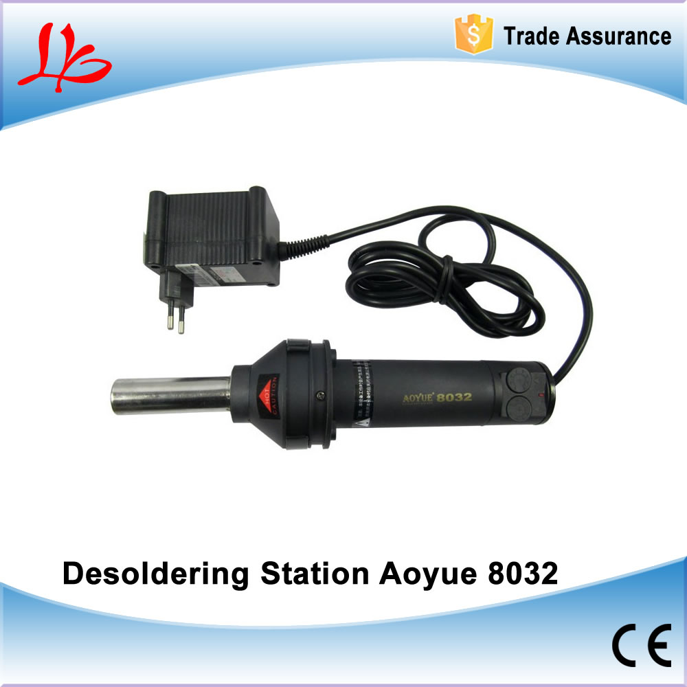 Aoyue 8032 30L /min 420w desoldering station portable heat gun BGA rework solder station hand hot air gun
