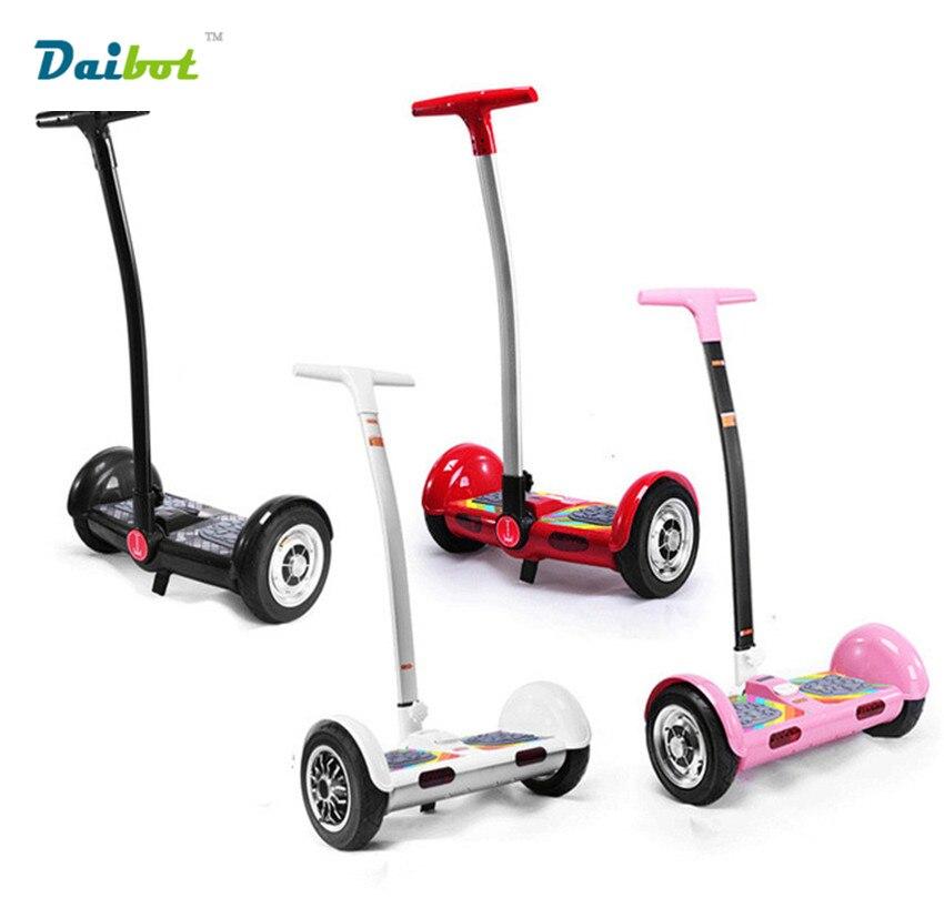 TT hoverboard Poignée bar Auto Équilibrage Scooters 10 ''Bluetooth Deux Roues De Planche À Roulettes Smart Balance scooter électrique Hover bord