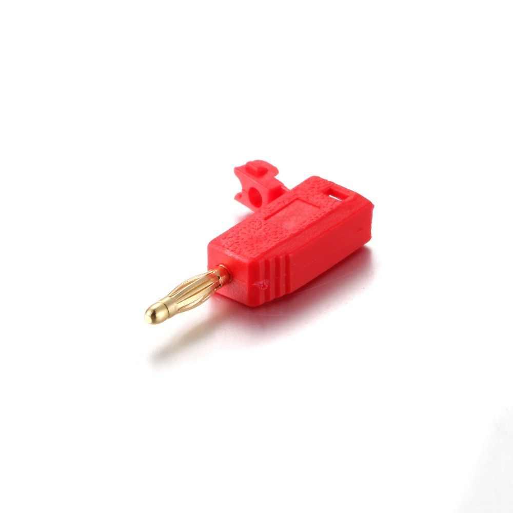 Лидер продаж Универсальный 1 шт. мм 2 мм позолоченный разъем типа «банан» для автомобильных испытаний 5A ~ 1000 В 5 цветов автомобильные аксессуары