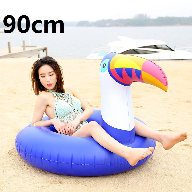 Giant-Inflatable-Flamingo-Pool-Float-Pink-Ride-On-Swimming-Ring-Adults-Children-Water-Holiday-Party