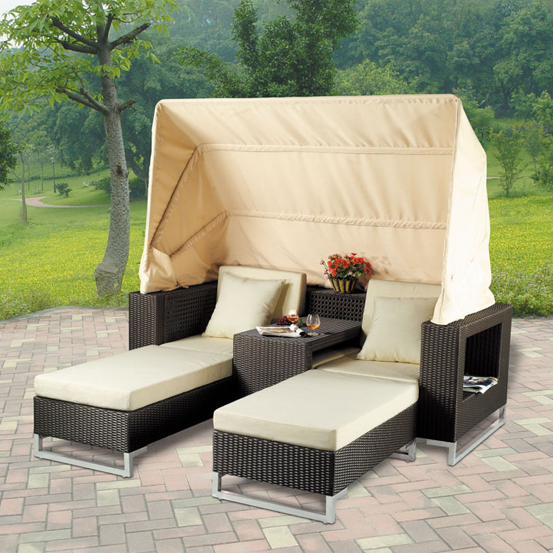 Spot outdoor leisure garden furniture lying bed balcony double sofa pool  beach rattan loungers China. Online Buy Wholesale garden spot furniture from China garden spot