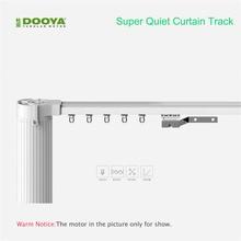Dooya Высокое качество заказной электрический занавес трек для дистанционного управления электрические шторы мотор умный дом автоматизация