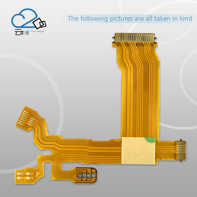 """כרטיסי טלויזיה ועריכה 2pcs / ניו העדשות צמצם Flex כבל עבור אולימפוס M.ZUIKO DIGITAL ED 14-42 מ""""מ 14-42mm f / 3.5-5.6 EZ 37 מ""""מ חלקים תיקון קליבר (2)"""