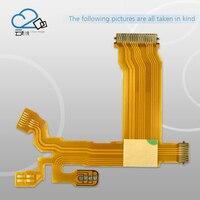 """ממ עבור 2pcs / ניו העדשות צמצם Flex כבל עבור אולימפוס M.ZUIKO DIGITAL ED 14-42 מ""""מ 14-42mm f / 3.5-5.6 EZ 37 מ""""מ חלקים תיקון קליבר (2)"""