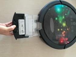 (For Robot Vacuum Cleaner QQ6)  The whole dustbin for the robot vacuum cleaner QQ6