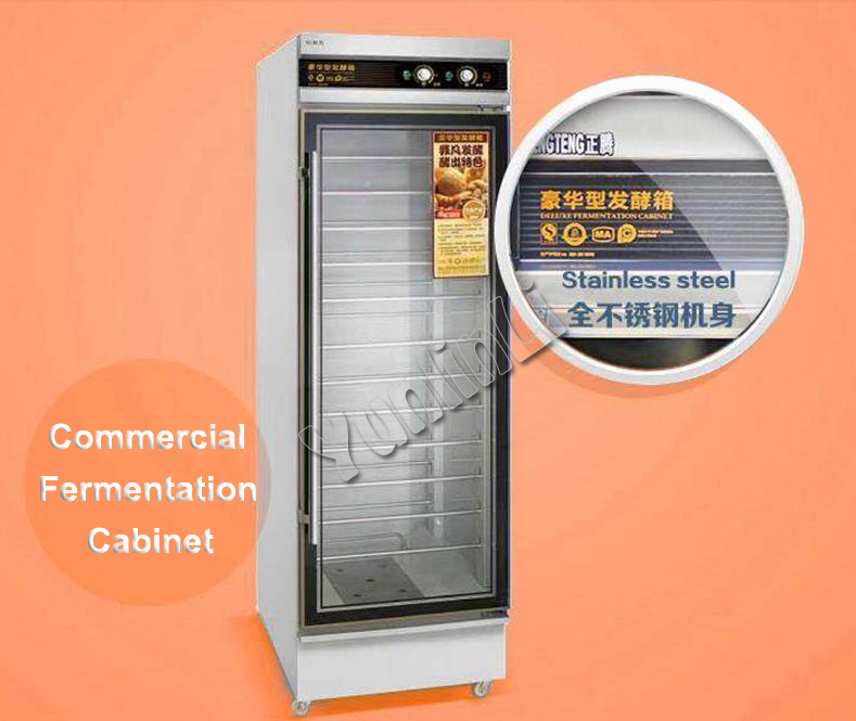 Commercial Fermentation Cabinet   Stainless Steel Bread Fermentation Tank   Food Fermentation Room  Food Fermentor FJX12