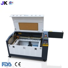 4060 RECI 100W CO2 laser engraving machine with up and down working table free shipping to Russia include customs duty and tax