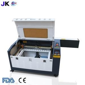 Image 1 - Máquina de grabado láser CO2 con mesa de trabajo arriba y abajo, 4060, 100W, Envío Gratis a Rusia, incluye impuestos y aranceles aduaneros
