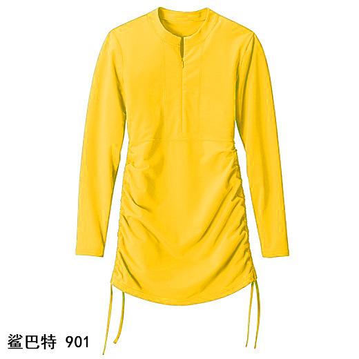 Wysokiej jakości ochrona przed promieniowaniem UV z długim rękawem plaża koszulki szybkie suszenie do nurkowania garnitur surfowania ubrania tanie i dobre opinie Damska Pełna Ochrona uv V-neck Lato S901 Resist jellyfish +UV protection+surfing Pasuje prawda na wymiar weź swój normalny rozmiar