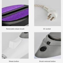 Portable Travel Handheld Iron Steamer Garment Steam Brush Hand Held for Ironing Clothes Household Appliances 220V 880W