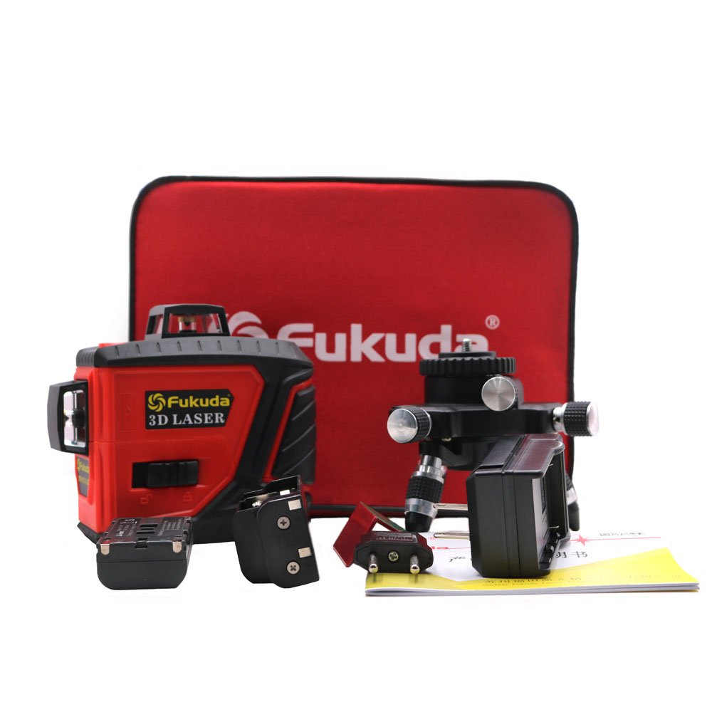 2018 new 3D 12 red lines MW 93T 3D 12Lines laser level Self Leveling 360 Horizontal