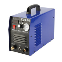 CUT50 Electric Air Plasma Cutting Machine Digital Inverter Plasma Cutter With Plasma Torch Consumables 50A 230V