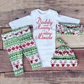 Baby clothes girl sets long sleeve romper+pants 4pcs sets Christmas Infantil cotton roupas de bebe overall clothes ins hot 4m-2y