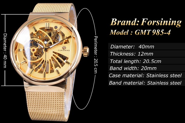 Mens Watches Prime Model Luxurious Mechanical