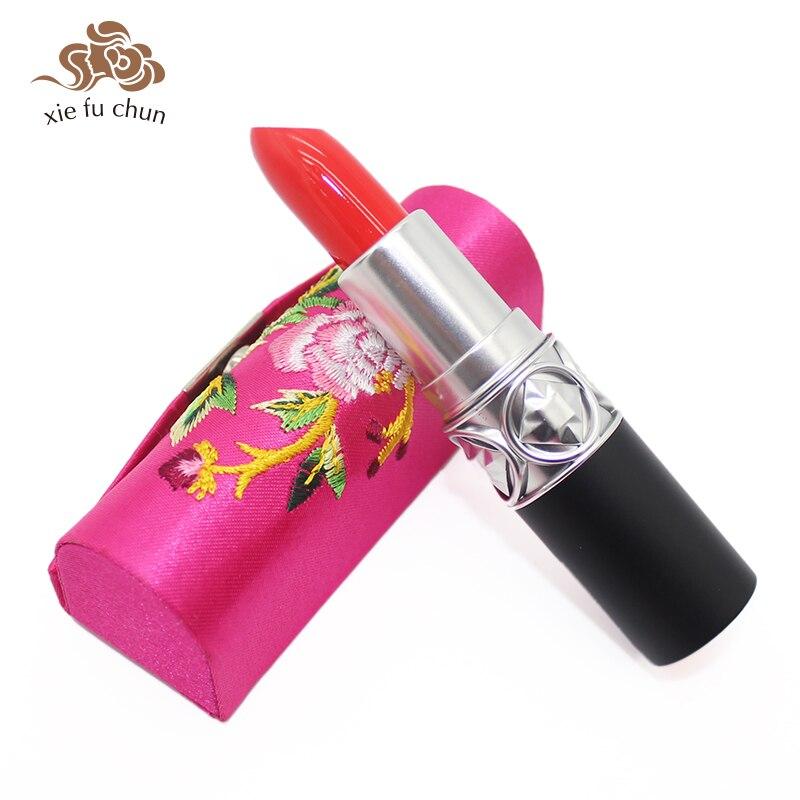 Xiefairy un rouge à lèvres traditionnel maquillage nutritif longue durée imperméable anti-adhésif facile à porter hydratant mat rouge à lèvres XFC19