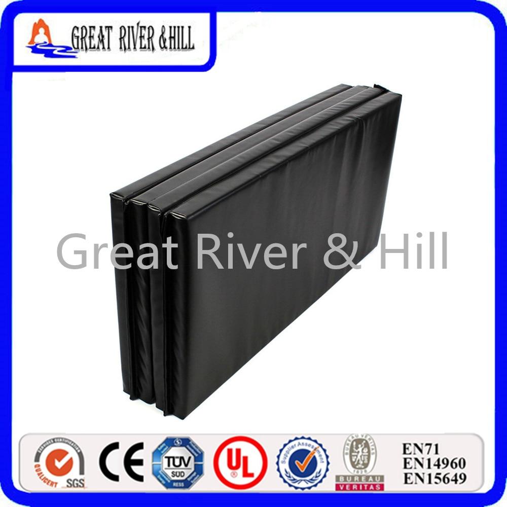 Great River Hill 2017 new design 4 Folding fitness mat with size 0.6mx1.2mx3cmx4pcs сумка river island river island ri004bwzyz56