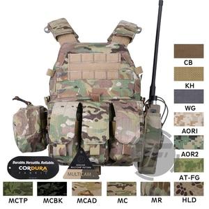 Image 1 - Emerson Tactical Modular MOLLE LBT 6094A Plate Carrier EmersonGear LBT 6094A Combat Vest w/ M4 M16 5.56 .223 Magazine Pouches