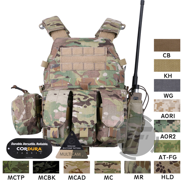Emerson Tactical Modulare MOLLE LBT 6094A Platte Träger EmersonGear LBT 6094A Kampf Weste w/ M4 M16 5,56. 223 magazin Beutel