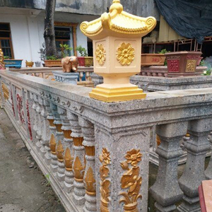 Image 5 - 36 см/14,17 дюймов, классический стиль, легкая конструкция, прочный дом, садоводство/пагода балкона/дом, гео форма, ABS, бетон/цементная форма