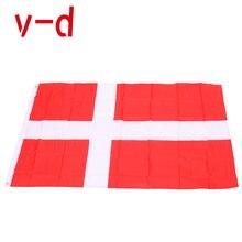 free  shipping  xvggdg   NEW denmark  Flag 3ft x 5ft Hanging denmark Flag Polyester standard Flag Banner nü denmark повседневные брюки