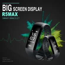 Smart Watch Blood Pressure Oxygen Band Heart Rate R5 MAX 0.96 inch OLED Touch Screen Smartwatch Waterproof IP67 Band
