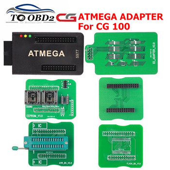 Original ATMEGA Adapter for CG100 Airbag Restore Devices with ATMEGA Adapter, EEPROM ,AVR,AVR V2.0 ,EEPROM-SO, FLASH Adapter