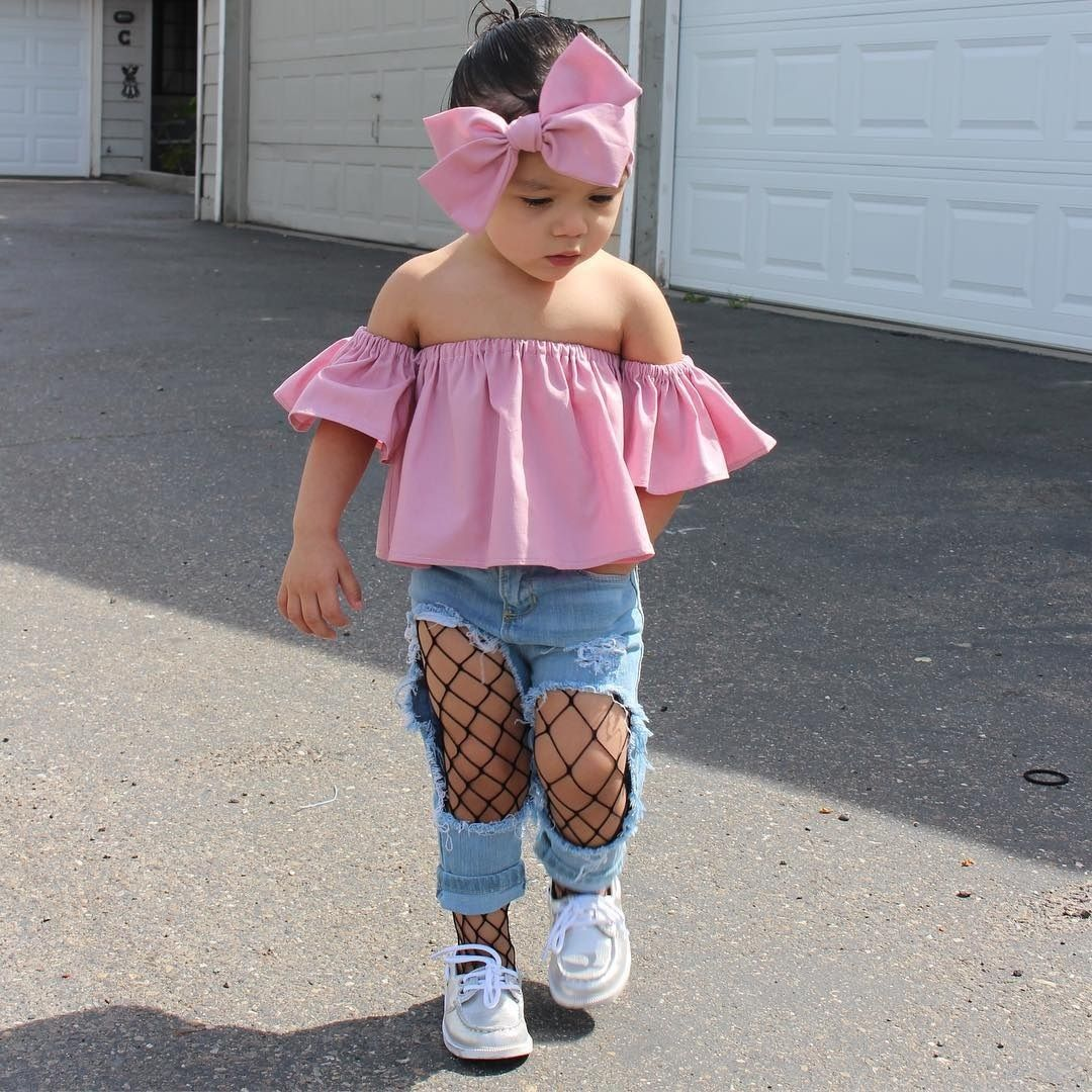 2019 year look- Newborn stylish baby girl clothes