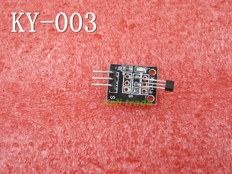 Smart Electronics 10pcs lot 3pin KEYES KY 003 Hall Magnetic Sensor Module for font b Arduino