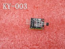 Smart Electronics 10pcs/lot 3pin KEYES KY-003 Hall Magnetic Sensor Module for Arduino Diy Starter Kit KY003