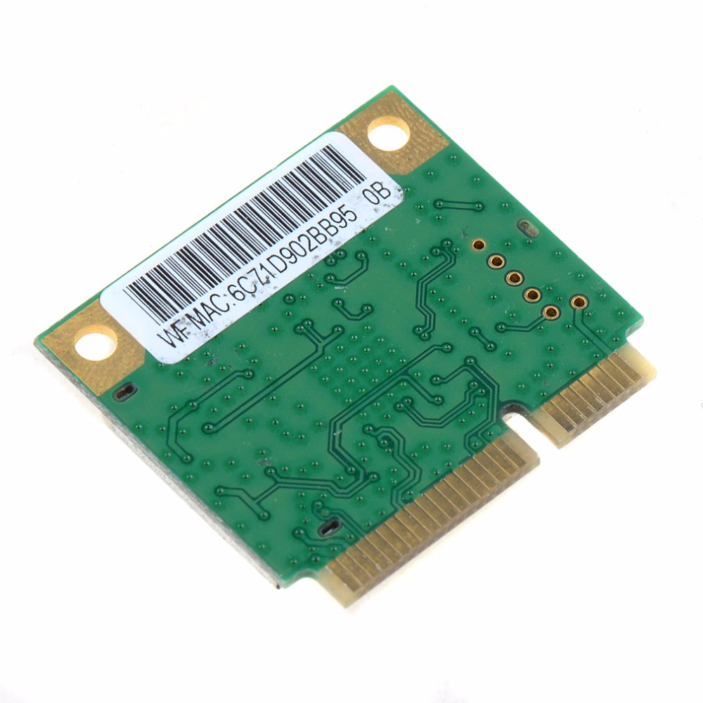 IsMyStore: Laptop Network Cards Mini PCI-E Combo Wireless Card Realtek RTL8723AE 300M +4.0 Bluetooth 802.11n Network Cards VCM18 P30