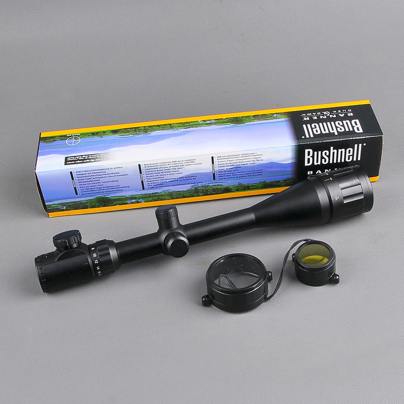 Tactical Optical Riflescope BUSHNELL 6-24X50 AOE Red&Green Dot Reticle Optics Sight Rifle Scope Sniper Gear Hunting Scopes gps навигатор bushnell backtrack d tour red