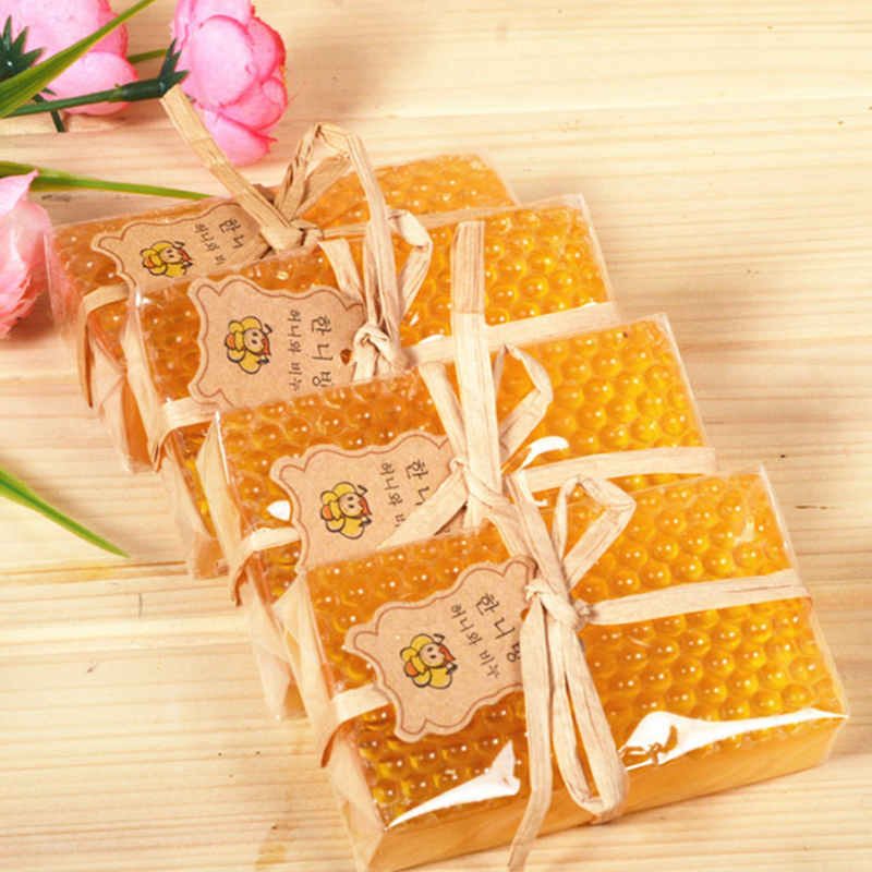 100% Hand Made Soap Whitening Peeling Glutathione Arbutin Honey Kojic Acid Soap Skin Care 100g Wholesale