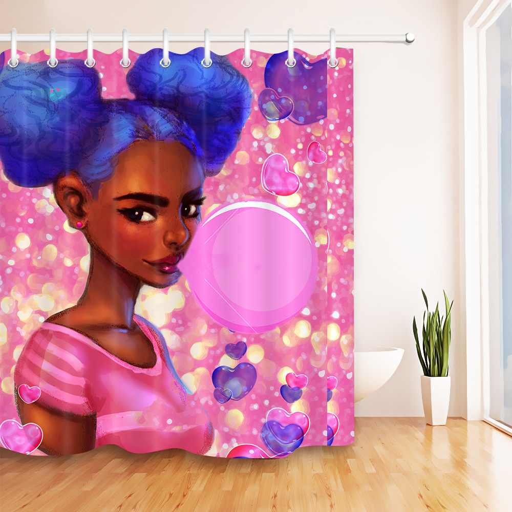 bubbles african black woman afro