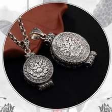 """100% Серебро 925 пробы тибетская подвеска gau ожерелье """"Тибетский"""