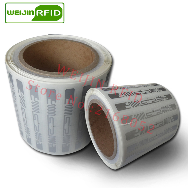UHF RFID tag sticker Alien 9640 wet inlay 915m868 860-960mhz Higgs3 EPC 6C 20pcs free shipping self-adhesive passive RFID label
