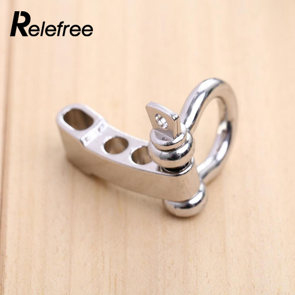 D Ring Bow O And U Shape Anchor Pin Clevis Rigging Towing Climbing Recovery Stainless Steel D Shackle Towing Cable Chain