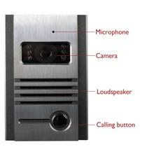 Freeship Night Vision Outdoor Intercom font b Camera b font Metal Outdoor Unit For Doorphone Free