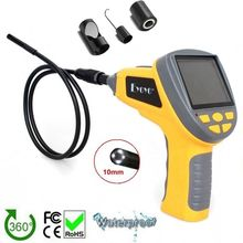 Free shipping!EYOYO 8.5mm Dia 3.5″TFT LCD Inspection Endoscope Tube+Magnet/Hook/Mirror Car Diagnostic Tools