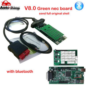 with Bluetooth vd tcs cdp nec Relay Green Board OBD OBD2 OBDII Diagnostic Scan Tool  new vci for cars trucks free ship