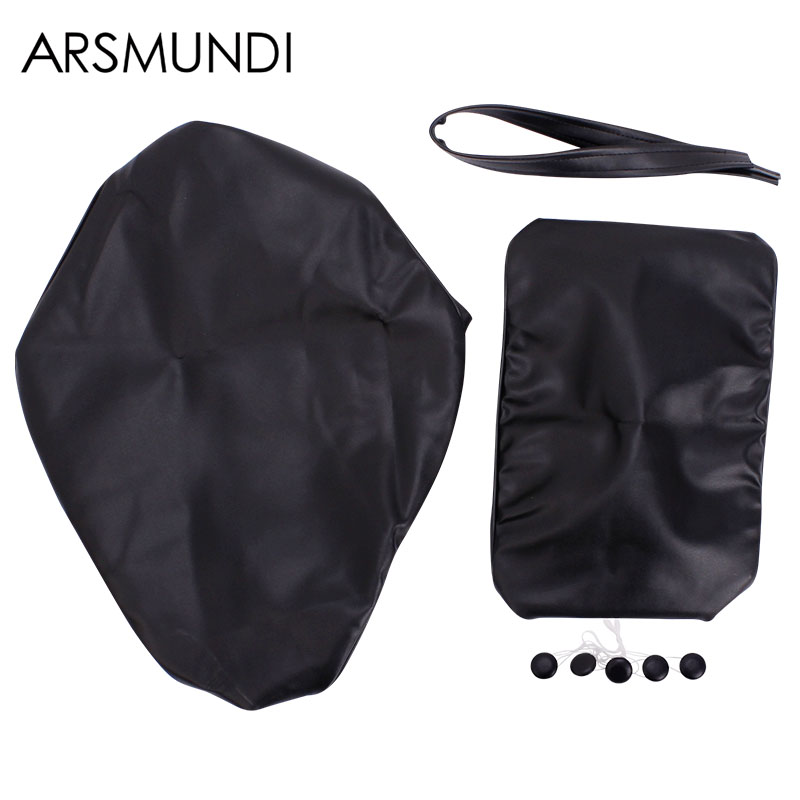 Seat Cushions Leather Cover Seat Waterproof For Honda Steed400 Steed600 Steed 400 600 Motorcycle Accessories
