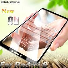 9D Protective Film For Redmi 6 Tempered Glass Anti fingerprint For Redmi 6A 6pro Screen Protector