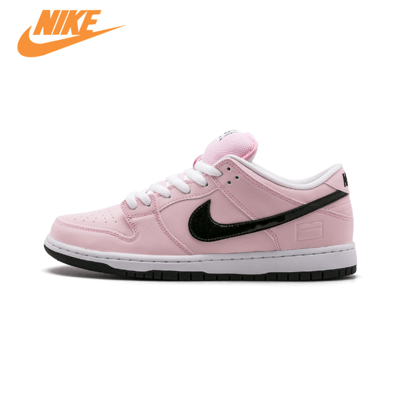 Original New Arrival Official Nike Dunk SB Elite Pink Box Breathable Women's Skateboarding Shoes Sports Sneakers Trainers nike sb рюкзак nike sb courthouse черный черный белый