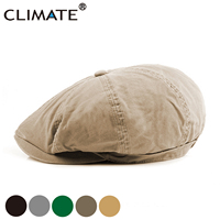 Gorros de talla grande en blanco para hombre  boinas informales Extra grandes  Boina clásica de boina de sombrero plano sólido para hombre