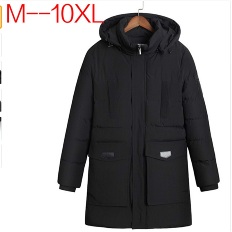 plus size 10XL 9XL 8XL 6XL 5XL Winter Parkas Men Down Jacket 2018 Thick Nature Warm windbreaker Loose Original Male Coats BIG men plus size 4xl 5xl 6xl 7xl 8xl 9xl winter pant sport fleece lined softshell warm outdoor climbing snow soft shell pant