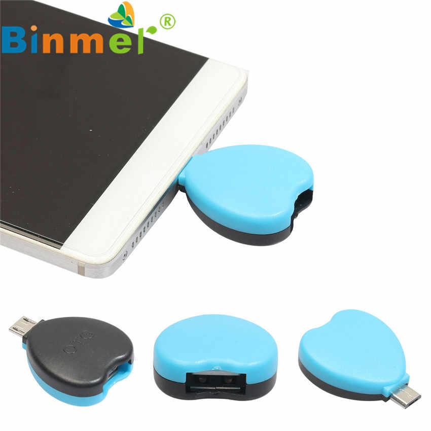 #22 1 Pcs/5 Pcs/10 Pcs Micro USB Macho para USB 2.0 OTG Adaptador Conversor Para Tablet Android Telefone