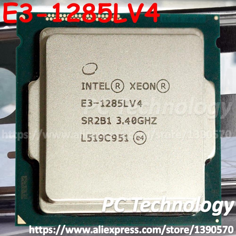 Original Intel Xeon E3 1285LV4 CPU 3 40GHz 6M LGA1150 Quad core E3 1285L V4 processor