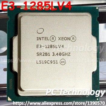 Original Intel Xeon E3-1285LV4 CPU 3,40 GHz 6 M LGA1150 Quad-core E3-1285L V4 procesador envío gratis E3 1285L V4 e3 1285LV4