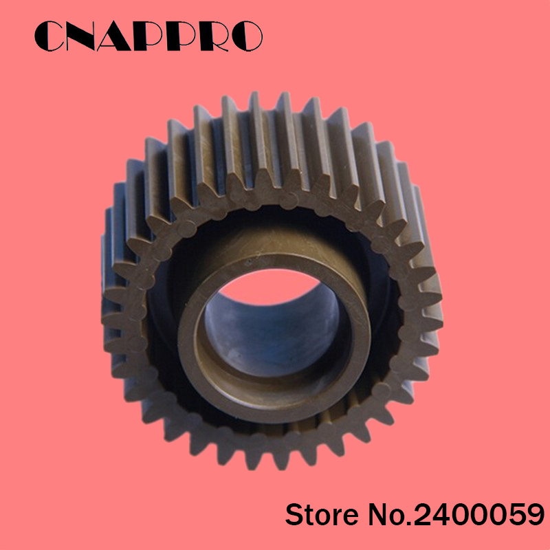 1pc/lot A03U809400 Fuser Drive Gear For Konica Minolta Bizhub PRO C5500 C5501 PRO C6500 PRO C6500P 34T cnappro 2pcs lot 65aa77470 idler gear for konica minolta 8050 c5500 c6500 fuser regulating gear a 19t