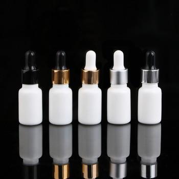 Merx Beauty wholesales 21pcs 10ml 1/3 floz glass dropper white glass dropper bottle cosmetic bottle Essential Oil Bottle